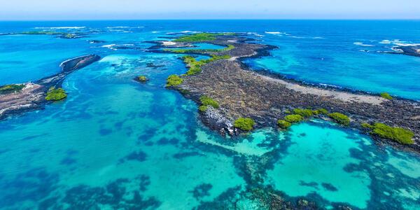 Aerial Shot of Isabel Island, Galapagos Islands, Ecuador (Photo: Ppito00/Shutterstock)