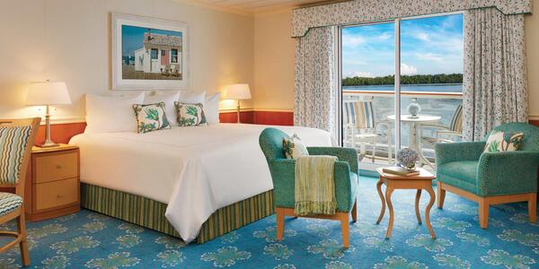 American Cruise Lines Stateroom (Photo: American Cruise Lines)