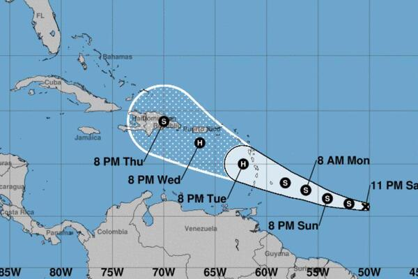 Tropical Storm Dorian Forces Cruise Ship Itinerary Changes