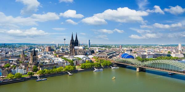 Cologne Cityscape, Germany (Photo: yotily/Shutterstock)