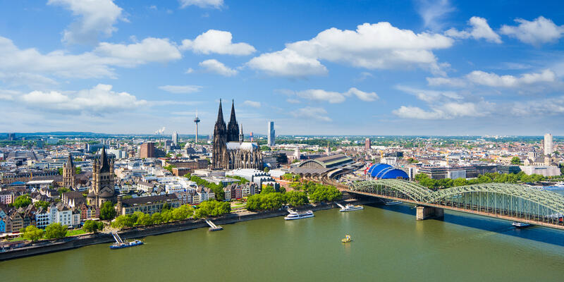 Cologne Cityscape, Germany (Photo: yotily/Shutterstock)