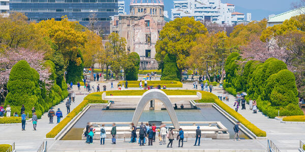 Hiroshima Peace Memorial Park in Japan (Photo: f11photo/Shutterstock)