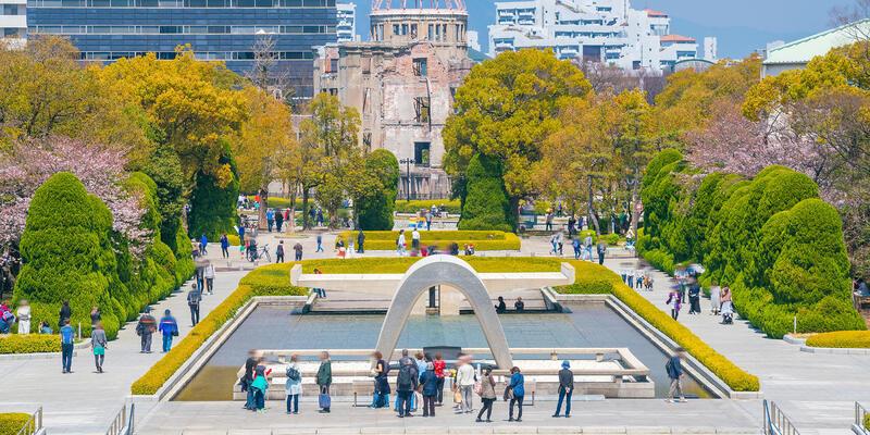 Hiroshima Peace Memorial Park in Japan (Photo: f11photo/Shutterstock)