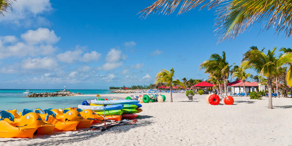 Princess Cays Beach Toy Rentals (Photo: byvalet/Shutterstock)