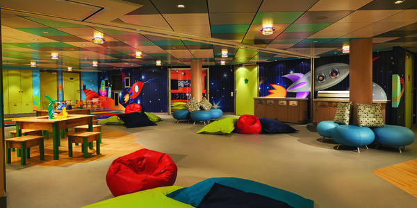 Norwegian Getaway's Splash Academy (Photo: Norwegian Cruise Line)