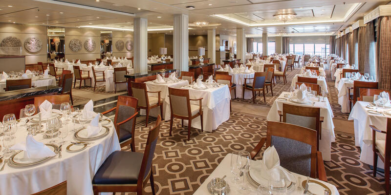 The Princess Grill on Queen Mary 2 (Photo: Cunard)