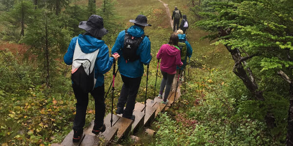 Hiking Excursion from Ventures by Seabourn on the Rainbow Falls Trail (Photo: Ashley Kosciolek/Cruise Critic)