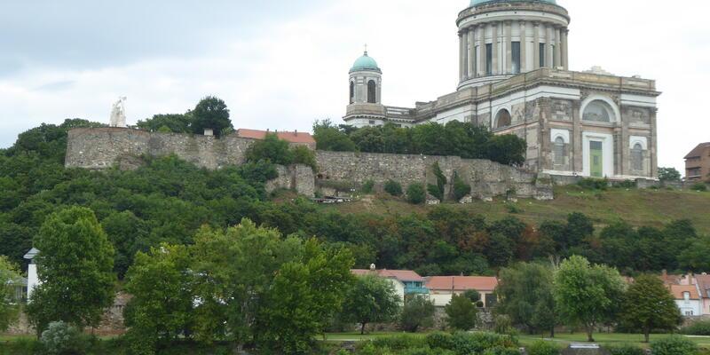 Basilica Esztergom on Danube cruise with A-Rosa