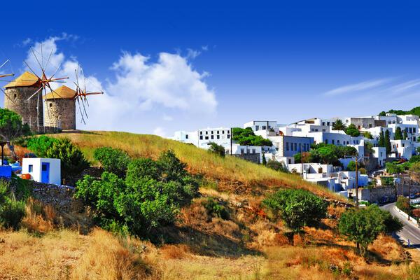 Panorama of the Scenic Patmos Island (Photo: leoks/Shutterstock)