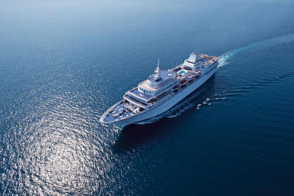 Aegean Odyssey at sea