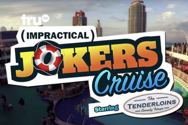 Impractical Jokers Cruise promotional banner from Sixmath