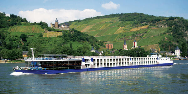 MS Arena on the Rhine (Photo: The River Cruise Line)