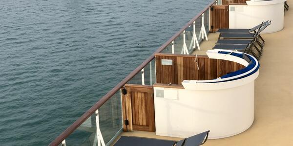 Private Veranda Cabanas on the Veranda Deck on Marella Explorer 2 (Photo: Cruise Critic/Kerry Spencer)