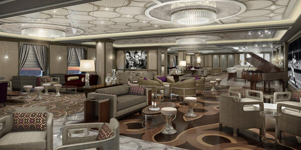 Rendering of Take 5, without people, on Sky Princess