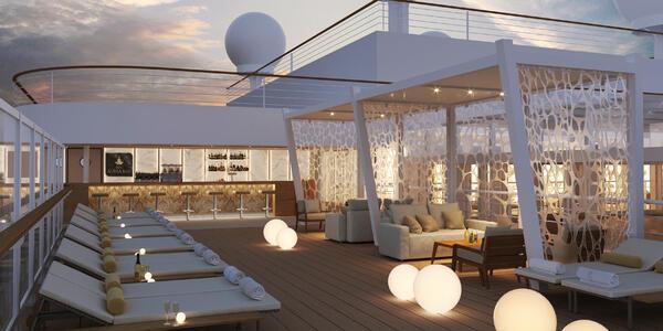 Aurea Bar on MSC Seashore (Image: MSC Cruises)
