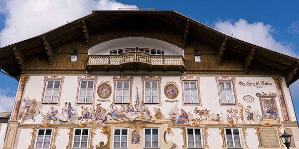 Oberammergau Germany Decorated Passion Play Painted House (Photo: Michael Warwick/Shutterstock)
