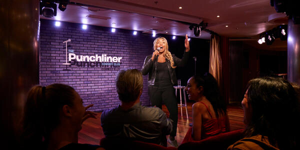 The Punchliner Experience Onboard Carnival (Photo: Carnival Cruise Line)