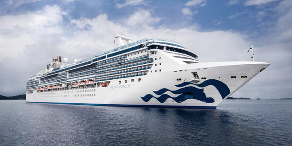 Exterior shot of Island Princess