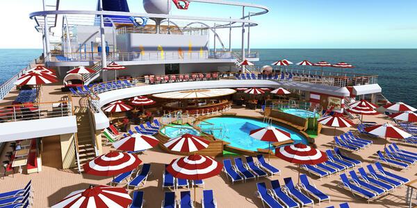 Rendering of Carnival Panorama's Tides Pool