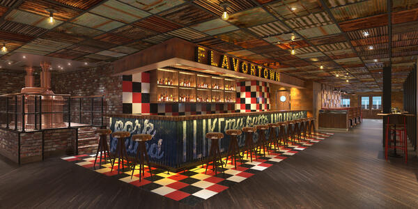 Rendering of Carnival Panorama's Guy's Pig & Anchor
