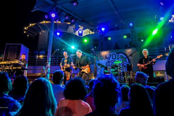 Performers onboard the '70s Rock and Romance Cruise 2019