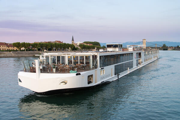 Rhone River cruise (Photo by David Swanson)