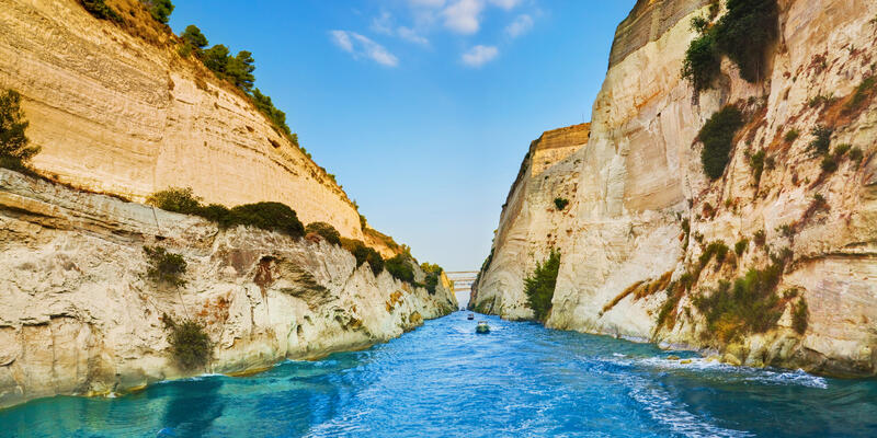 Corinth Canal, Greece (Photo: Tatiana Popova/Shutterstock)