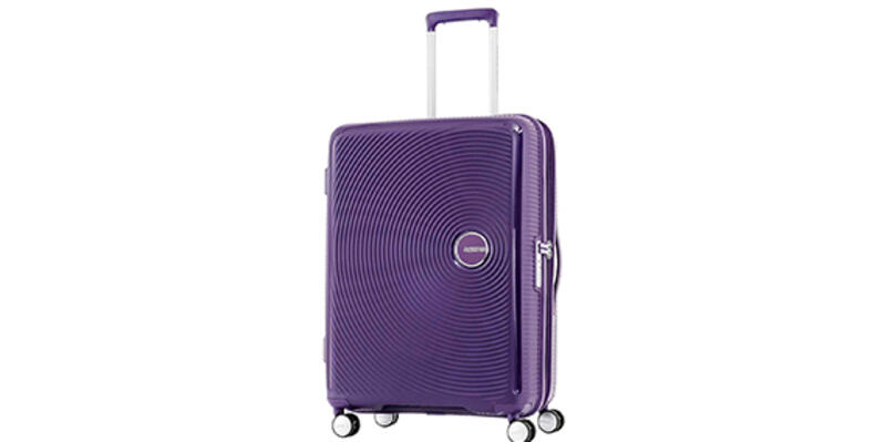 American Tourister Curio Spinner Hardside 20, Purple (Photo: Amazon)