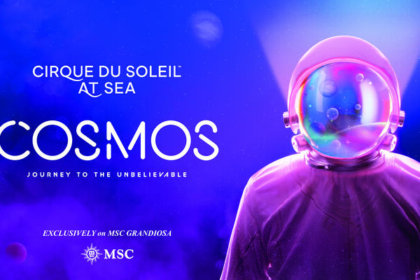 New Cirque at Sea Show on MSC Grandiosa, Cosmos