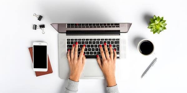 Woman on laptop (Photo: Leszek Czerwonka/Shutterstock)