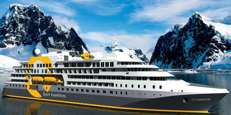 Artist rendering of Quark Expeditions Ultramarine (Image: Quark Expeditions)