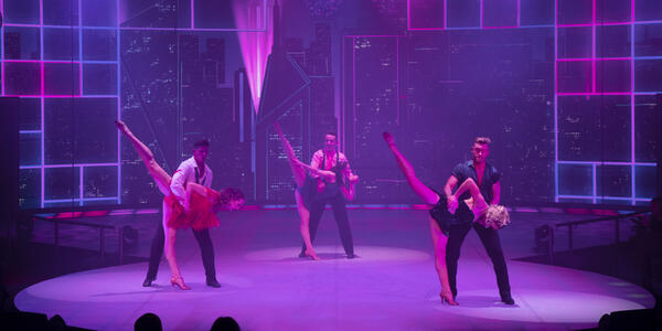 Dancers performing on a Holland America cruise (Photo: Holland America Line)