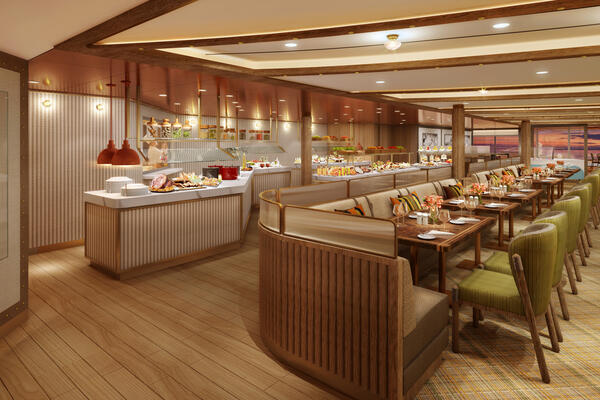 Rendering of the The Colonnade on Seabourn Venture (Photo: Seabourn Cruise Line)