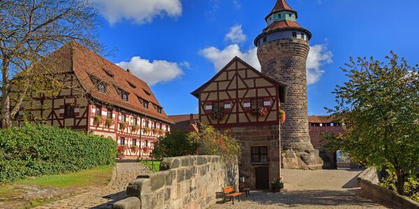 Nuremberg Castle (via Shutterstock)