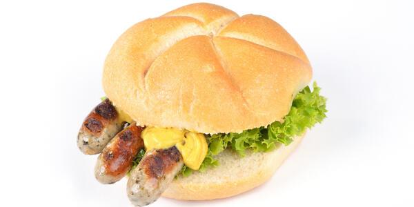 Nuremberg sausage (via Shutterstock)
