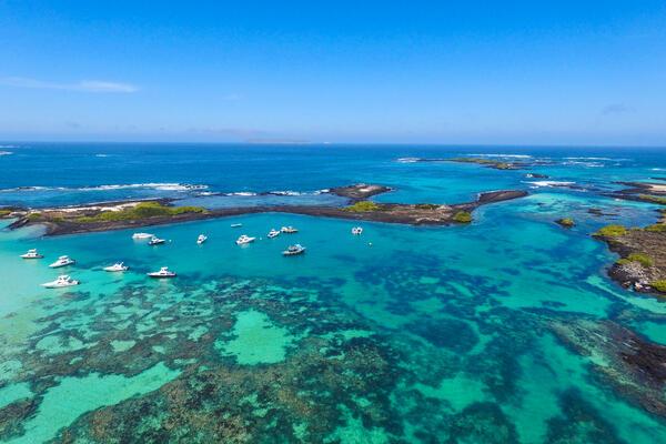 Isabela Island Galapagos, Ecuador Aerial Shot (Photo: Ppito00/Shutterstock)