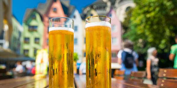 Beer in Cologne (photo via Shutterstock)