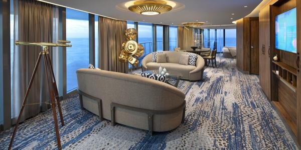 Celebrity Flora Penthouse Suite (Photo: Celebrity Cruises)