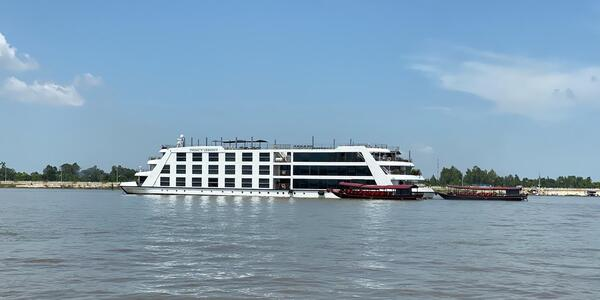 Shot of Emerald Harmony on the Mekong River