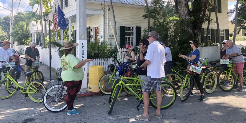 Bicycle excursion on an Oceania Insignia Caribbean cruise (Photo: Chris Gray Faust)