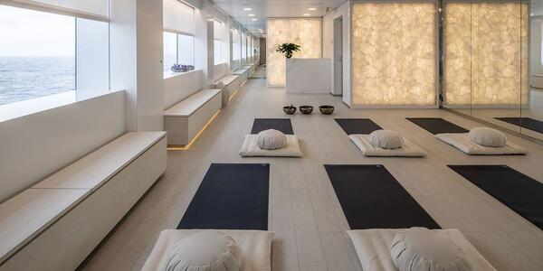 The Yoga Studio on Scenic Eclipse (Photo: Scenic Cruises)