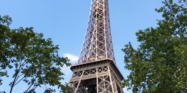 Paris' most iconic monument. (Photo by Galina Schott, courtesy of Viking River Cruises)