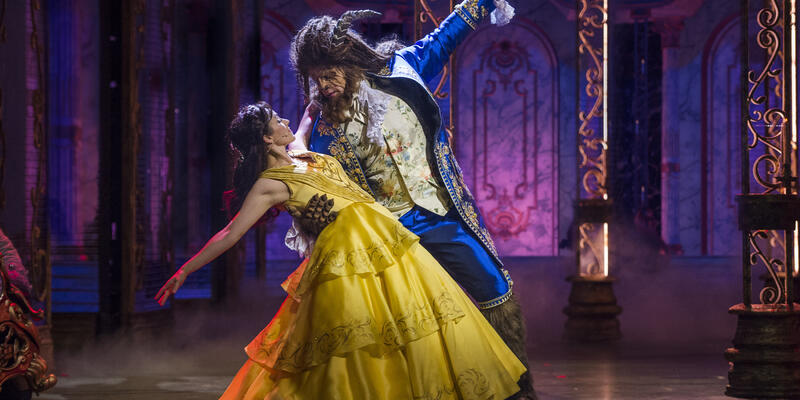 The Beauty and the Beast Performance on Disney Cruises (Photo: Disney Cruise Line)