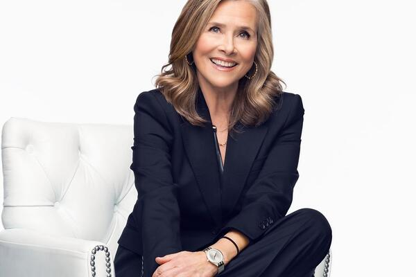 Meredith Vieira who will be the Godmother for Avalon View (Photo: Avalon Waterways)