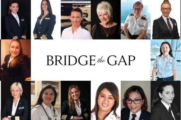 The 27 women who will be led by Captain Kate McCue, the first American female cruise ship captain (Photo: Celebrity Cruises)