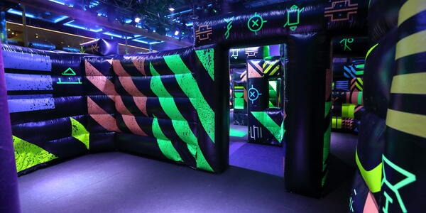 Voyager of the Seas laser tag (Photo: Tiana Templeman)