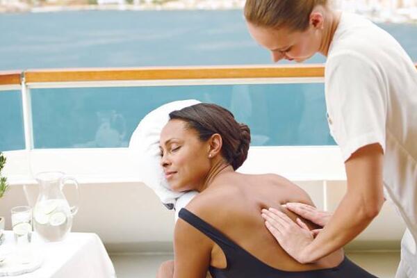 Spa service on Seabourn Cruises' (Photo: Seabourn Cruises)