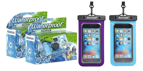 Underwater Camera or Waterproof Case (Photo: Amazon)