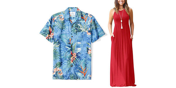 Casual Clothes and Hawaiian Shirts (Photo: Amazon)