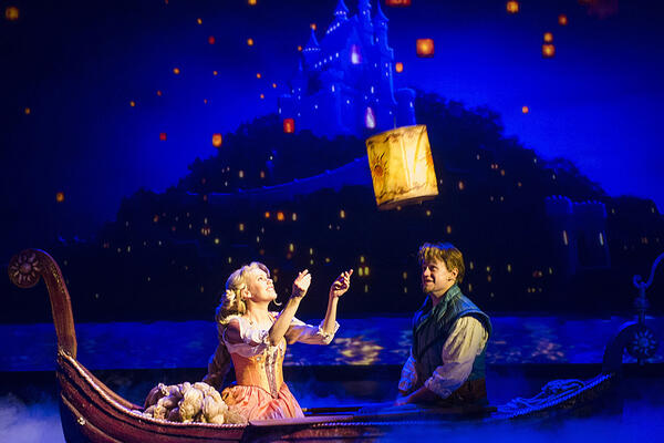 Tangled, The Musical performed on Disney Magic (Photo: Disney Cruise Line)